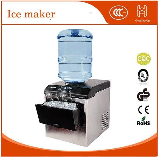 25 kg/24 horas uso doméstico fabricante de hielo automático portátil de hielo que hace la máquina/máquina de hielo del cubo