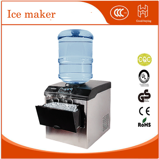 25KG/24Hours home use Ice Maker Portable Automatic round ice making machine/ice cube machine