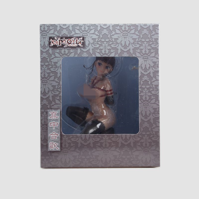 16cm Sexy Anime Q-six Euphoria Nemu Manaka PVC Action Figure Toy Collection Adult Boy Christmas Gifts Sexy plastic doll nendoroid anime sword art online ii sao asada shino q version pvc action figure collection model toy christmas gifts 10cm