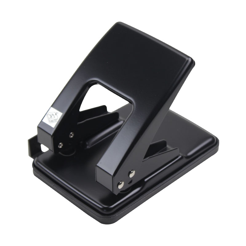 Metal 2 Hole Punch Ring Album Paper Cutter DIY A3 A4 Loose-Leaf Heavy Duty Puncher Scrapbooking Tools Office Stationery metal oval 1 hole punch ring album paper cutter adjustable diy name card puncher scrapbooking tools office binding supplies