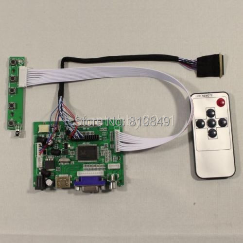 HDMI+VGA+2AV Controller board VS-TY2662-V1 work for B101EW05 1280*800 LCD panel