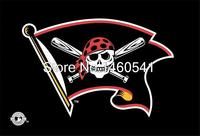 Pittsburgh Pirates Jolly Roger Flag 3ft X 5ft Polyester MLB Pittsburgh Pirates Banner Flying Size No