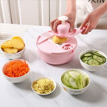 New round wheat straw multi - function kitchen chopping silk god cutter with hand planer knife