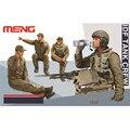 OHS Meng HS002 1/35 IDF Tanque Tripulação 4 Figuras Conjunto de Miniaturas figuras Assembléia Modelo Kits de Construção