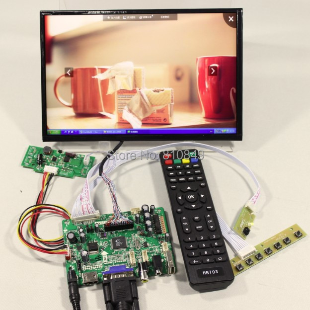 HDMI+VGA+AV+Audio+USB FPV +10.1inch B101UAN01/2 1920*1200 IPS LCD screen model lcd for Raspberry Pi cheerlux мини светодиодный проектор 800x480 1200 люмен 1200 1 hdmi usb vga av dtv eu