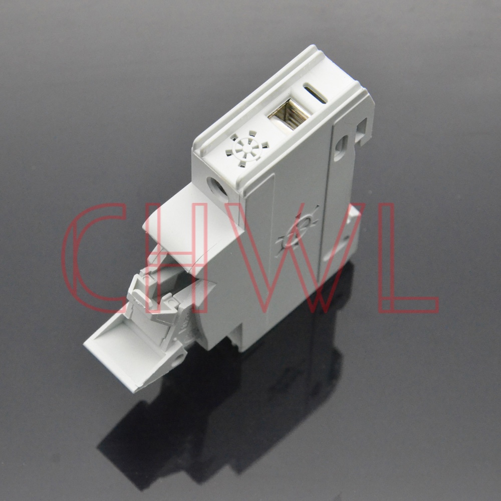 Image 4 - 5pieces/lot solar panel mount fuse holder 35mm din rail pv fuse 10x38mm DC 1000V Photovoltaic fuse base dropout fuse component-in Fuses from Home Improvement