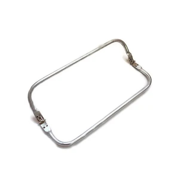 8 inches aluminous tubular internal hinge Bag frame purse frame