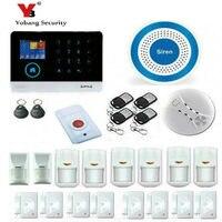 Беспроводной сенсорной клавиатурой приложение 3G GSM охранной сигнализации системы безопасности дома проводной беспроводной сигнал