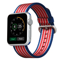 V-MORO New Nylon Watchbands Fabric Watch Strap Replacement Wristband Bracelet For Apple Watch 38MM 42MM