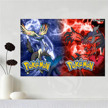 Custom Canvas Pokemon Wall Poster