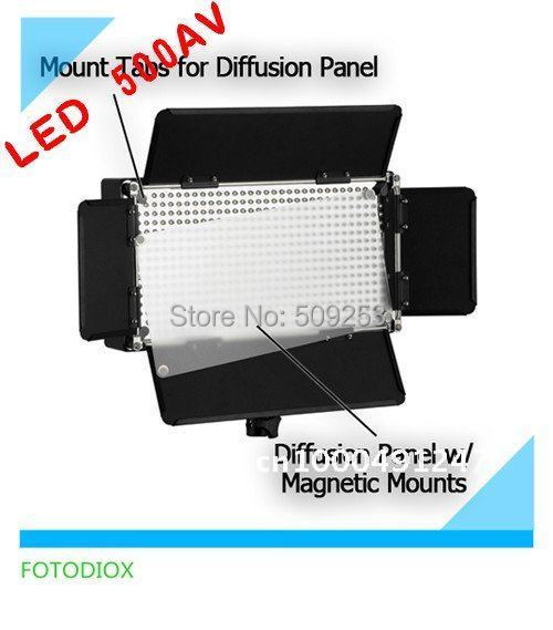 LED500 Light Panel Studio Video Dimmer suitable for V Mount Battery For studio/photography new