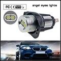 2PCS LED Angel Eyes Light 6W For BMW E90 E91 325i 328i 330i 335i Super Bright Angel Eyes