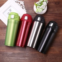 480ml BPA FREE Insulated sports outdoor MILK coffee MUG Stainless Steel Water Bottle vacuum Flask Travel TEA thermos cup
