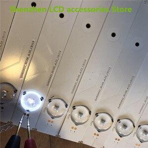Image 5 - 22 pezzi/lotto PER Hisense LED50K20JD HA CONDOTTO LA luce SVH500A22_REV05_6LED_131113 55.8 CENTIMETRI * 20MM Nuovo e originale 100%
