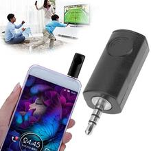 Mini 3.5mm Infrared  Universal IR Remote Control Headphone Adapter smart IR Controller for iPhone iPod Touch iPad