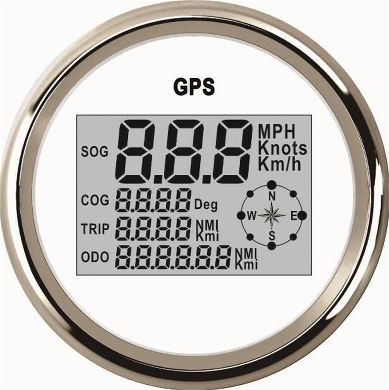 1pc Auto Tuning Gauges 85mm Digital GPS Speedometers GPS Odometers Motorcycle Tuning Meters 9-32v with Backlight and Antenna 1pc automobile tuning gauges 85mm digital gps speedometers odometers motorcycle tuning meters 9 32v with backlight