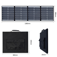 Xinpuguang 80W Foldable Solar Panel Solar Charger Technology for Laptop Tablet Smartphone and 5V 18V outdoor equipment More