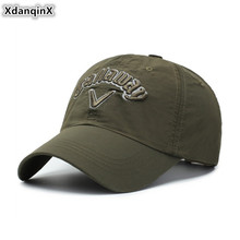 XdanqinX Adult Womens Fashion Ponytail Cap Letter Embroidery Mens Baseball Adjustable Size Personality Tongue Snapback
