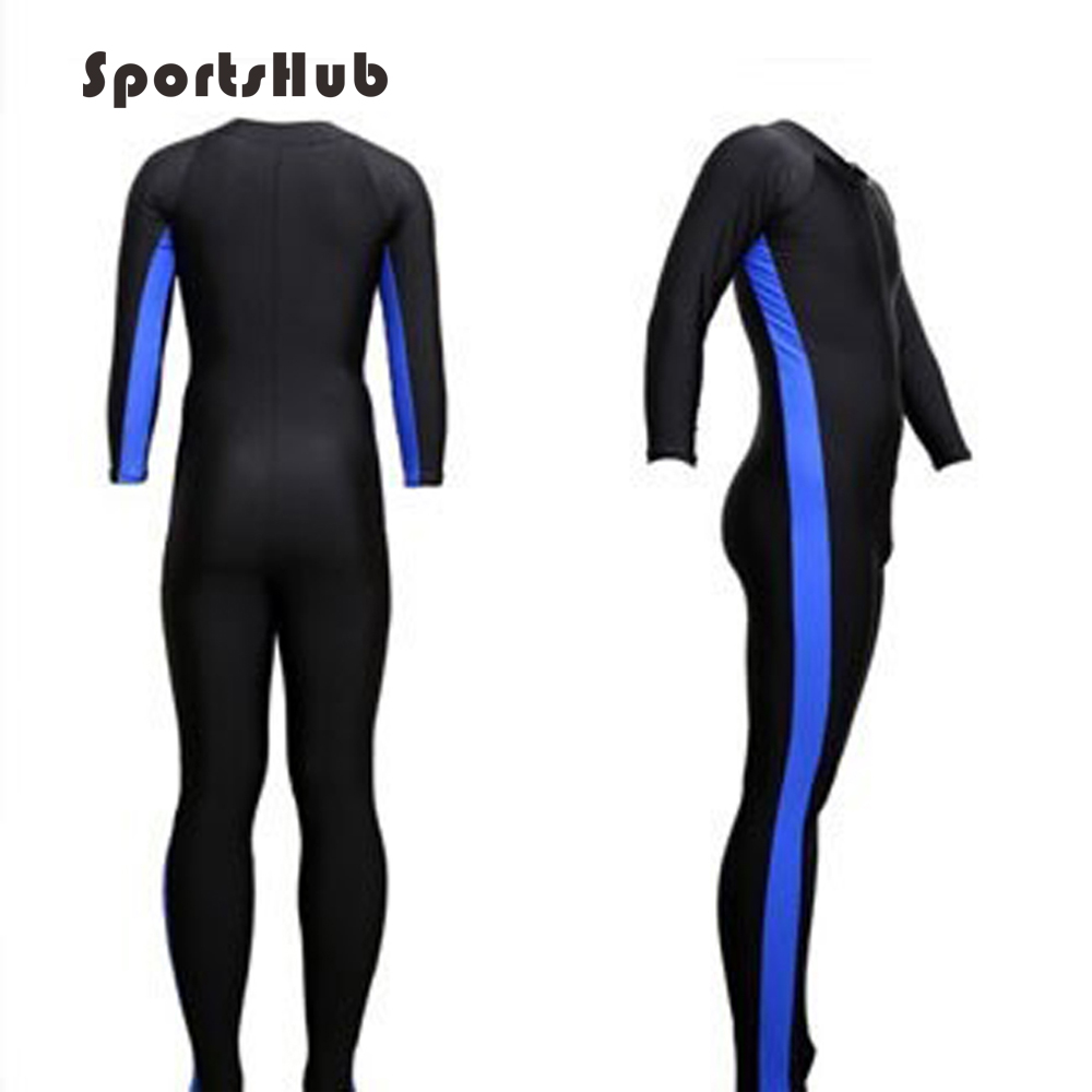 SPORTSHUB Unisex Anti-UV-skydd Wetsuits One-piece Baddräkt Tight Water Snorkel Suit Amatör Dykväska SAA0023