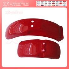 Front Rear Fender Guard FOR CR Monkey Z50 Z50R 50J Sky Z50 Gorilla Bike Motorcycle Parts red(China)