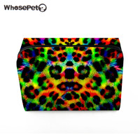 WHOSEPET Fashion Leopard Printing Make Up Case 2017 New Cosmetic Bag For Girls High Quality Travel
