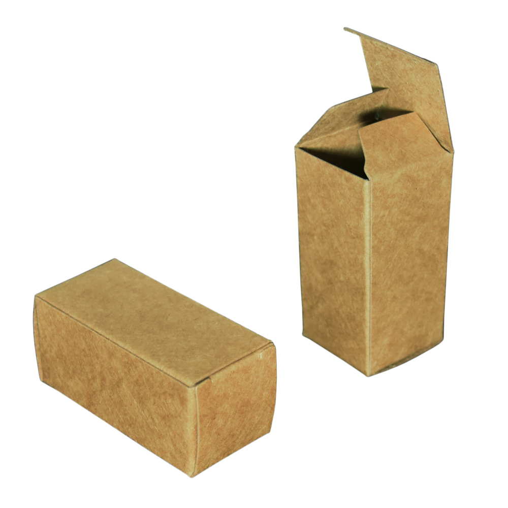 50pcs lot Colored Soft Kraft Paper Box Retail Gift Storage Craft Paperboard Boxes Perfume Oil Sundries Packing Box 3 6 3 6 9cm in Gift Bags Wrapping Supplies from Home Garden