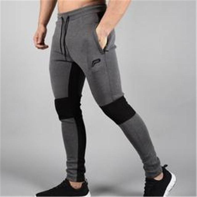 Men's Pants Workout Cloth Sporting Active Cotton Pants Men Jogger Pants Sweatpants Bottom Legging