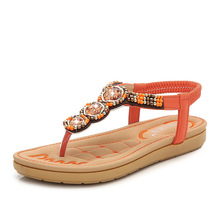 35-41 Outdoor Flat Sandals Women Summer Casual Star Drill Beach Water Shoes LightWeight Comfortable