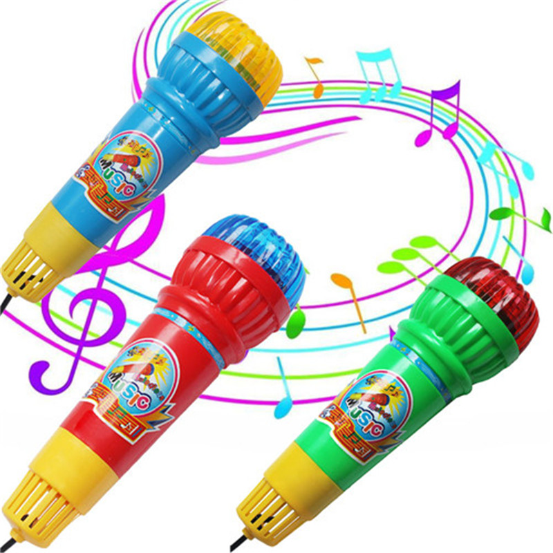Art Echo Microphone Mic Voice Changer Toy Gift Birthday Present Kids Party Song A# DROPSHIPPING