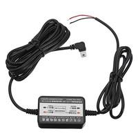 KROAK DC12/24 v om 5 v 2.5A Inverter Converter Micro Mini USB/DC 3.5mm Hardwire voor dash Cam Harde Draad Kit voor Auto GPS DVR Camera