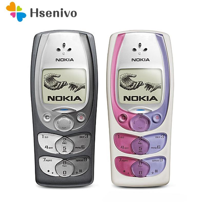 100% Original Unlocked Nokia 2300 Mobile Phone Refurbished Unlocked Cellphones Free Shipping