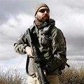 Высокое качество Скрытень Акула кожи Soft Shell TAD V 5.0 Мужчины Военная Тактическая Куртка Водонепроницаемый Ветрозащитный Армия Одежда