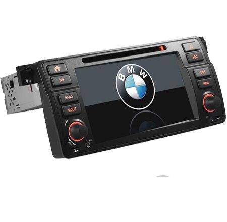 Lecteur DVD GPS voiture pour BMW E46 M3 avec 3G GPS Bluetooth Radio RDS USB SD commande au volant peut bus carte GPS gratuite