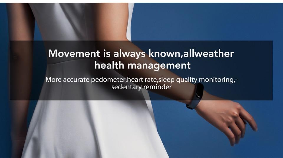 In Stock! Original Xiaomi Mi band 3 Xiomi Heart Rate Monitor Bluetooth 4.2 Xaomi Smart Sport Bracelet OLED Miband 3 Smartband  (7)
