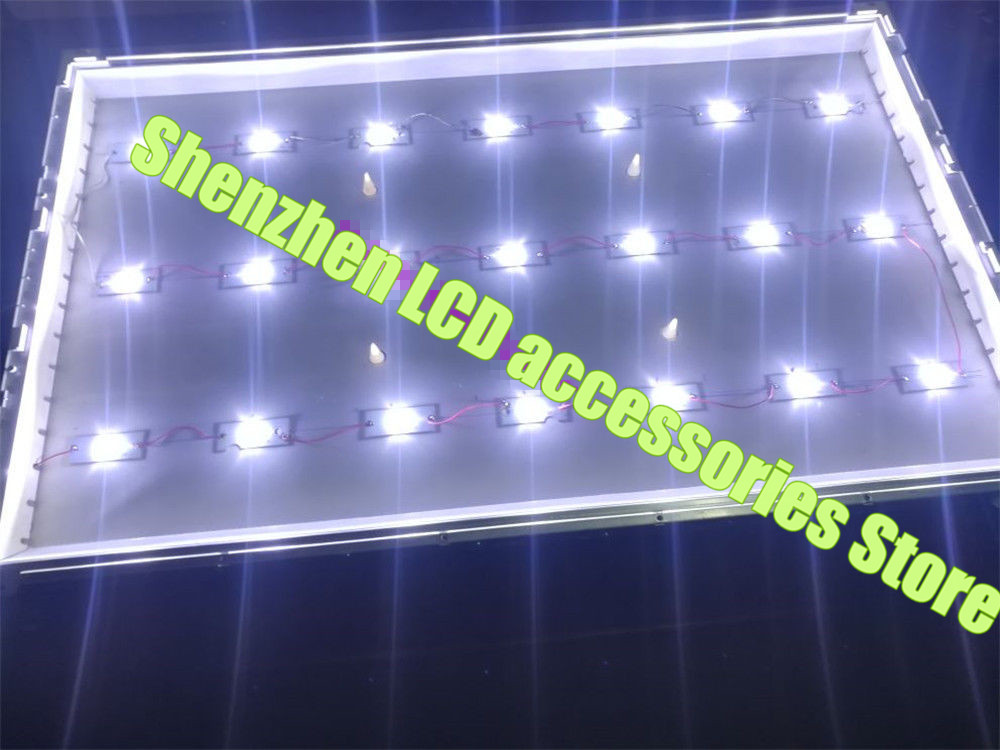 Universal 3V 6V LED SMD Lamp Beads with Concave Lens Filter for TV Repair New