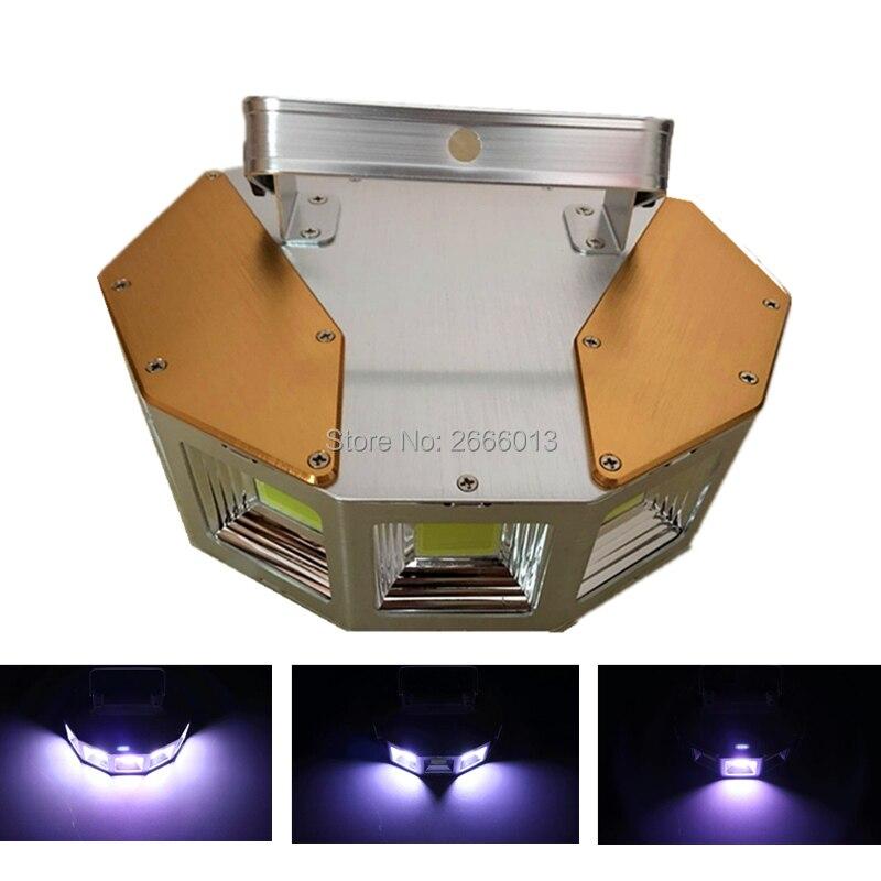 где купить LED DJ Strobe Light/ Multi-angle 150W Powerful LED Strong White Flash Lights DMX Sound Control Stroboscope For Disco DJ Bar Club дешево