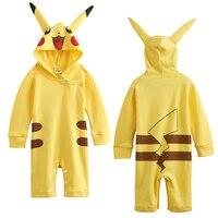 Baby Girls Pikachu Costume Pokemon Go Cosplay Size 0 24 Months