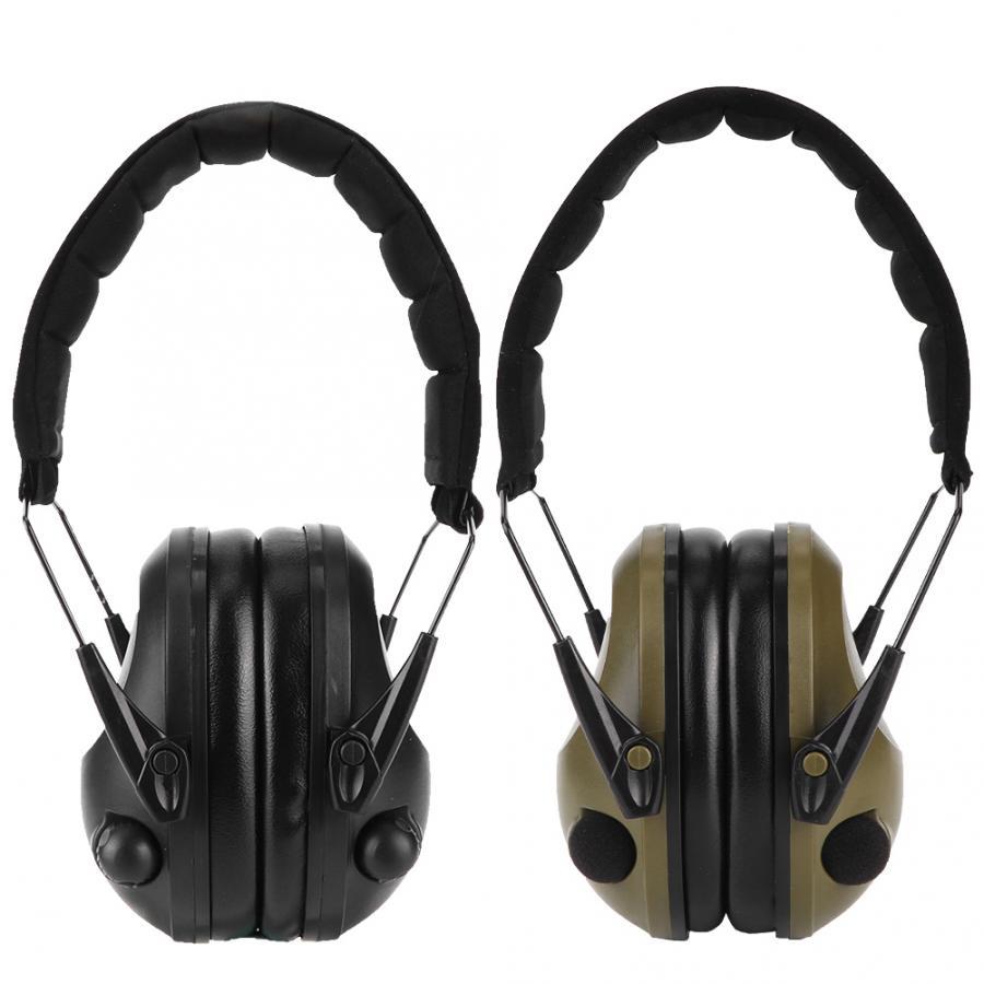 Electronic Headphone Ear Muffs Gun Shooting Hearing Noise Protection Range Muff
