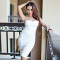 2016 HL Краткая ремень bodycon женщина dress Вернуться сплит falda де гала формальные наряды твердые женский slim dress H1811