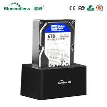 Док станция для hdd 1 отсек Sata USB 3,0 для 6 ТБ, универсальный hdd ssd адаптер 2,5 3,5 hdd коробка 3,5 hdd caddy оптическая коробка для чтения 6 ТБbox 3.5hdd boxhdd box 3.5  АлиЭкспресс