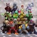 12 Pçs/set Tartarugas figura de ação brinquedos PVC modelo dolls para presente de Natal para crianças