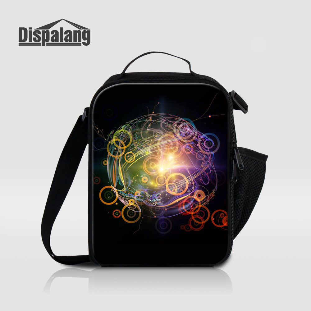 Dispalang Unique Design Kids Small Lunch Bags Women Men Thermal Insulated Cooler Bag Portable Outdoors Food Lunch Box Lancheira