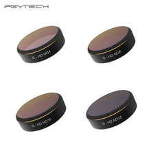 PGYTECH For DJI phantom 4 Pro Accessories Lens Filters ND4 8 16 32 gradual HD Filter Drone gimbal RC Quadcopter parts Set