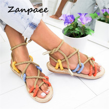 Gladiator Color Platform Sandals Large Size 35-42 Women