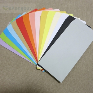 """Image 4 - 50pcs 170x85mm(6.6"""" x 3.3"""") Color Paper Envelope Vertical Chinese Style Gift Envelope"""