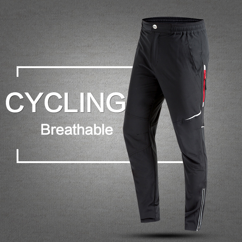 2017 İlkbahar & Sonbahar Erkekler Bisiklet Pantolon Uzun Bisiklet Pantolon Çabuk Kuru Anti-ter Nefes Cepler Bisiklet Pantolon bisiklet Giyim