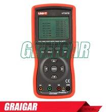 Best price Uni-T Ut267b Auto 3 Three Clamp Digital Phase Meter Va Volt Ammeter Power Factor Tester Power Meter W Rs-232 & Lcd Backlight