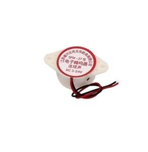 Image 2 - 1 PCS SFM 27 DC 3 24V 90DB Intermittent Beep Alarm Electronic Buzzer Sounder