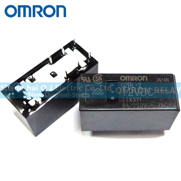 LOT OF 10 OMRON G8P-1A4P RELAY 250VAC 48VDC 30A