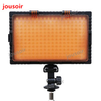 FalconEyes DV 216VC Bi Color LED Video Light Lamp Dimmable for illuminating Photographing or Filming for Camera 216PCS CD50 T06